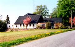 The house in Rynkeby seen from the road
